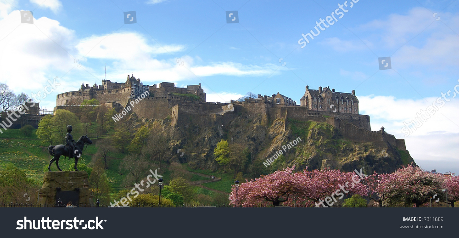 stock edinburgh castle - photo #40