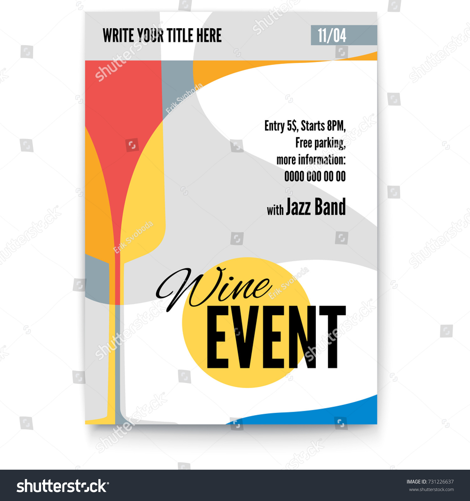 excellent poster design free template pictures inspiration, Presentation templates