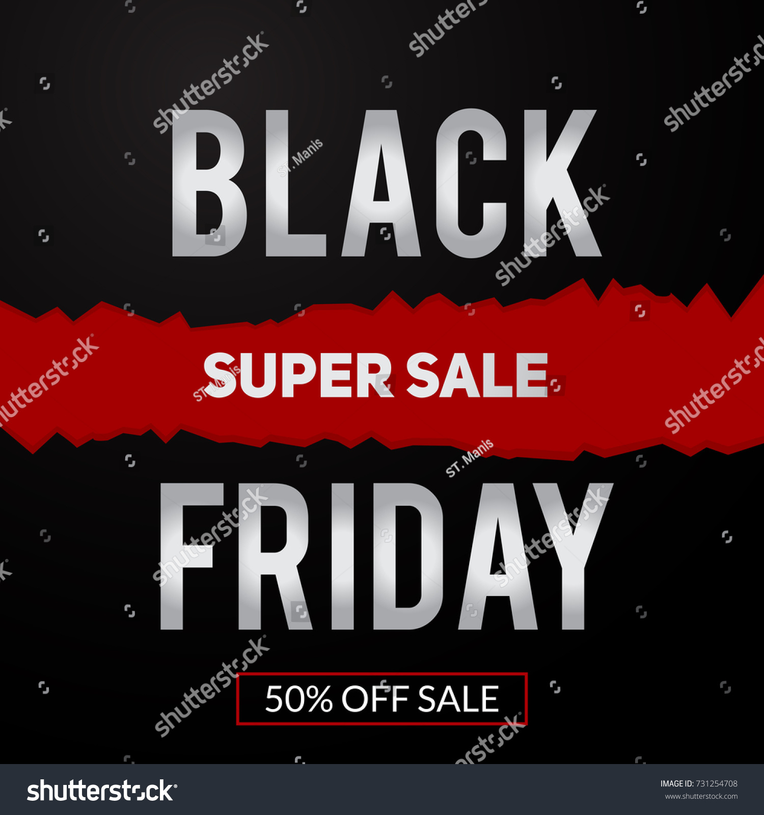 black friday super sale inscription design stock vector 731254708 shutterstock. Black Bedroom Furniture Sets. Home Design Ideas