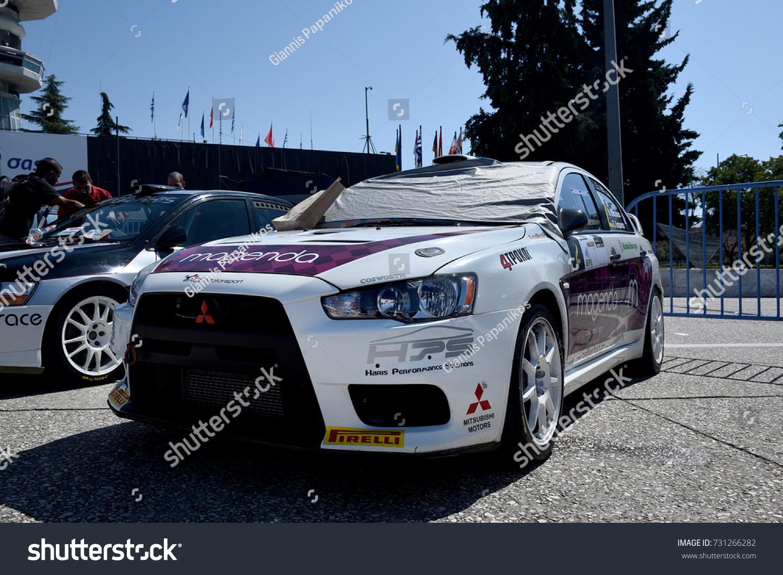 Thessaloniki Greece September 16 2017 Mitsubishi Stock Photo Edit