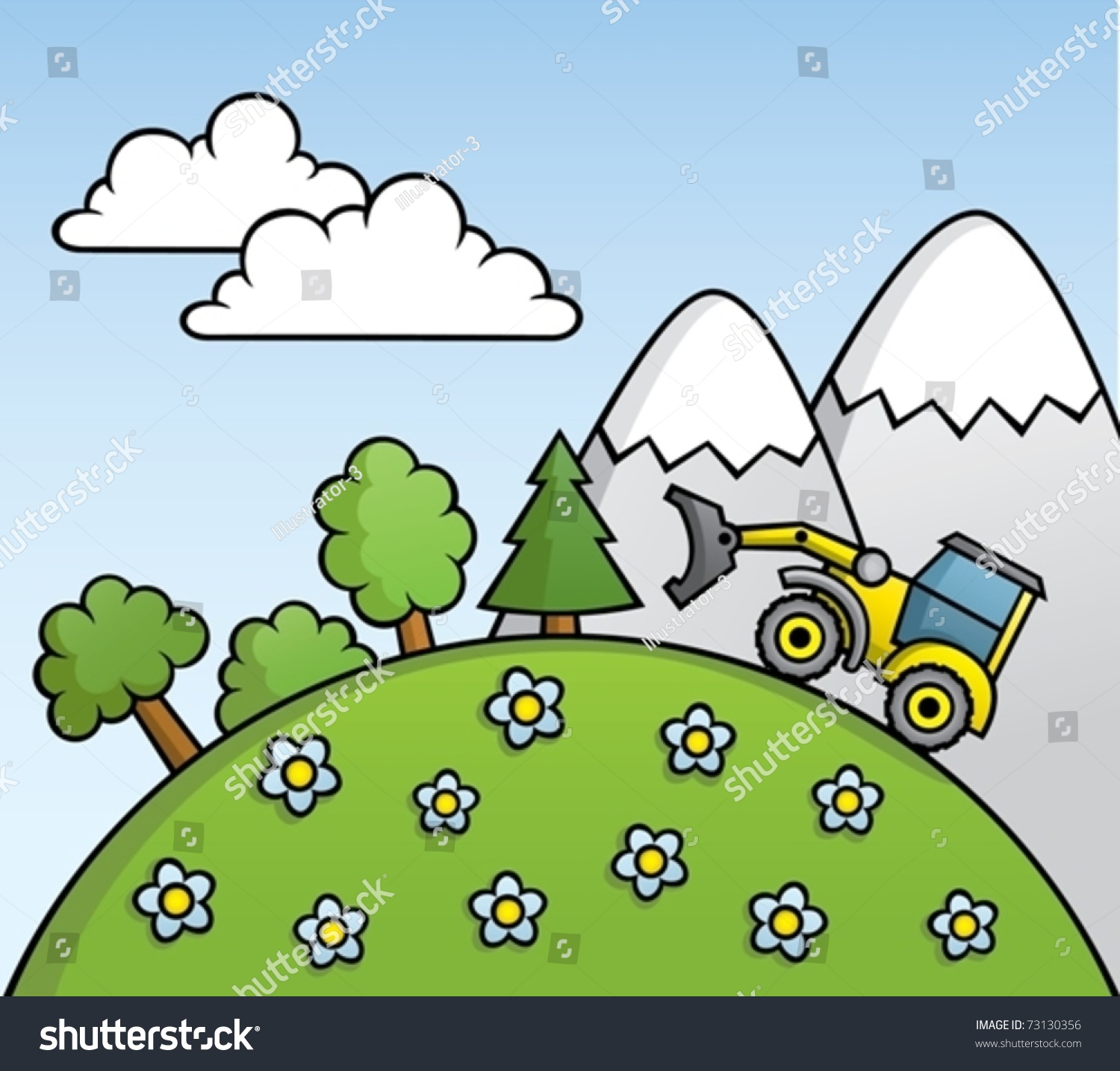 cartoon deforestation stock vector 73130356 shutterstock school bus clip art free downloads school bus clip art name tags