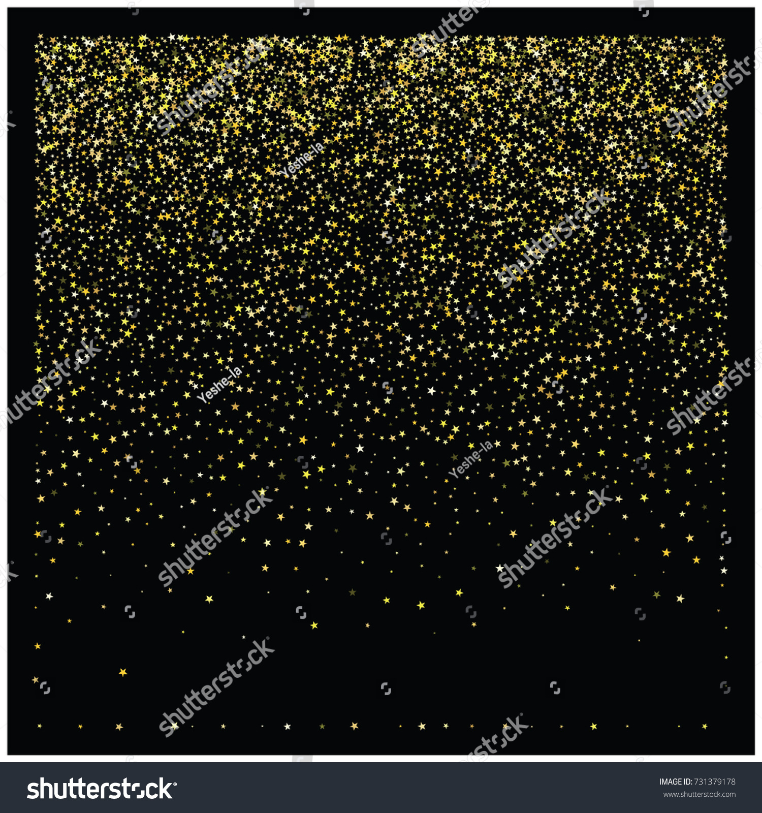 shining star new year border