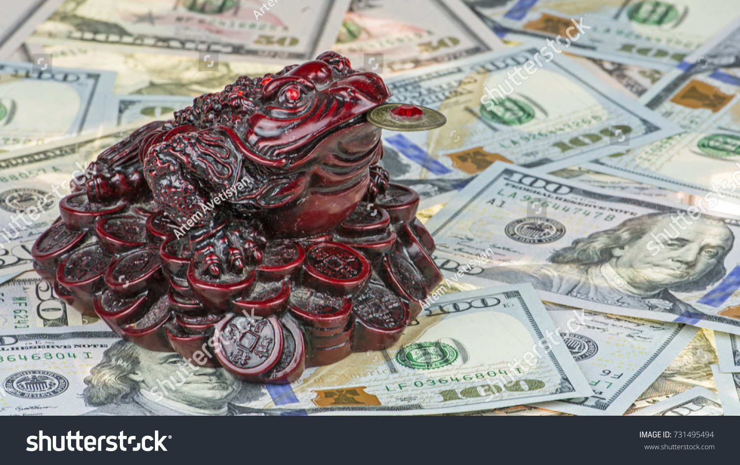 Threelegged Money Toad Jin Chan Chinese Stock Photo Edit Now