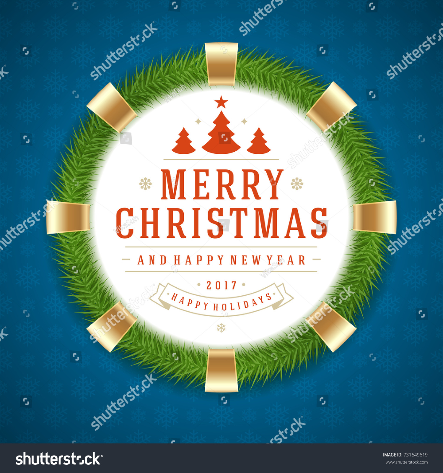 Christmas greeting card poster design merry stock vector 731649619 christmas greeting card or poster design merry christmas typography holidays wish logo emblem template kristyandbryce Choice Image