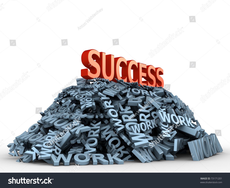 Big Red Word Success On Big Stock Illustration 73171201 - Shutterstock