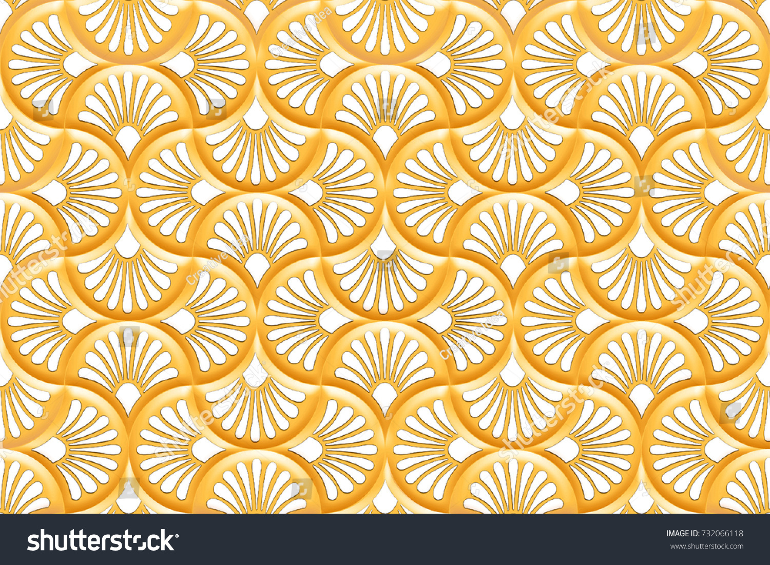 Abstract Home Decorative Wall Tiles Pattern Stock Illustration ...