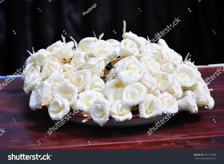 Dok Mai Chan Thai Funeral Flower Stock Photo Edit Now 732139780