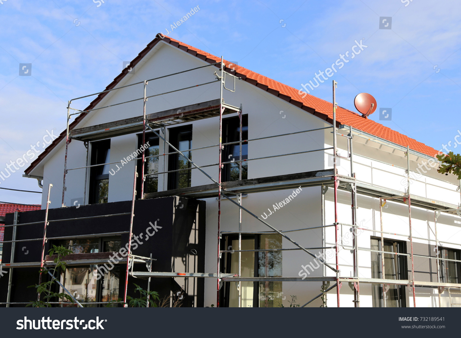 Captivating House With New Facade Painting, Exterior Shot