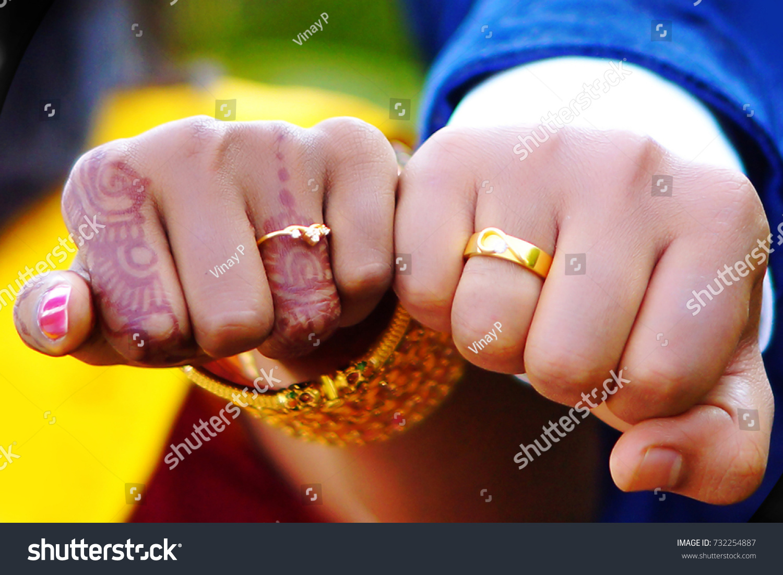 Indian Wedding Jewelry Mehandi Ring Stock Photo (Royalty Free ...