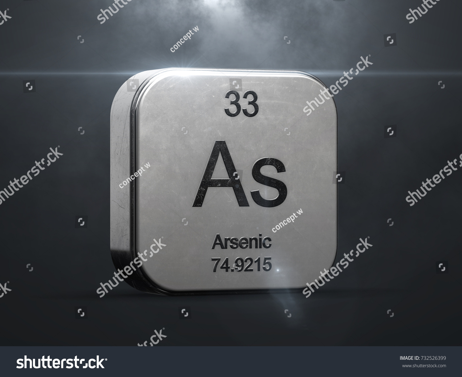 Arsenic element periodic table metallic icon stock illustration arsenic element from the periodic table metallic icon 3d rendered with nice lens flare 3d biocorpaavc Image collections