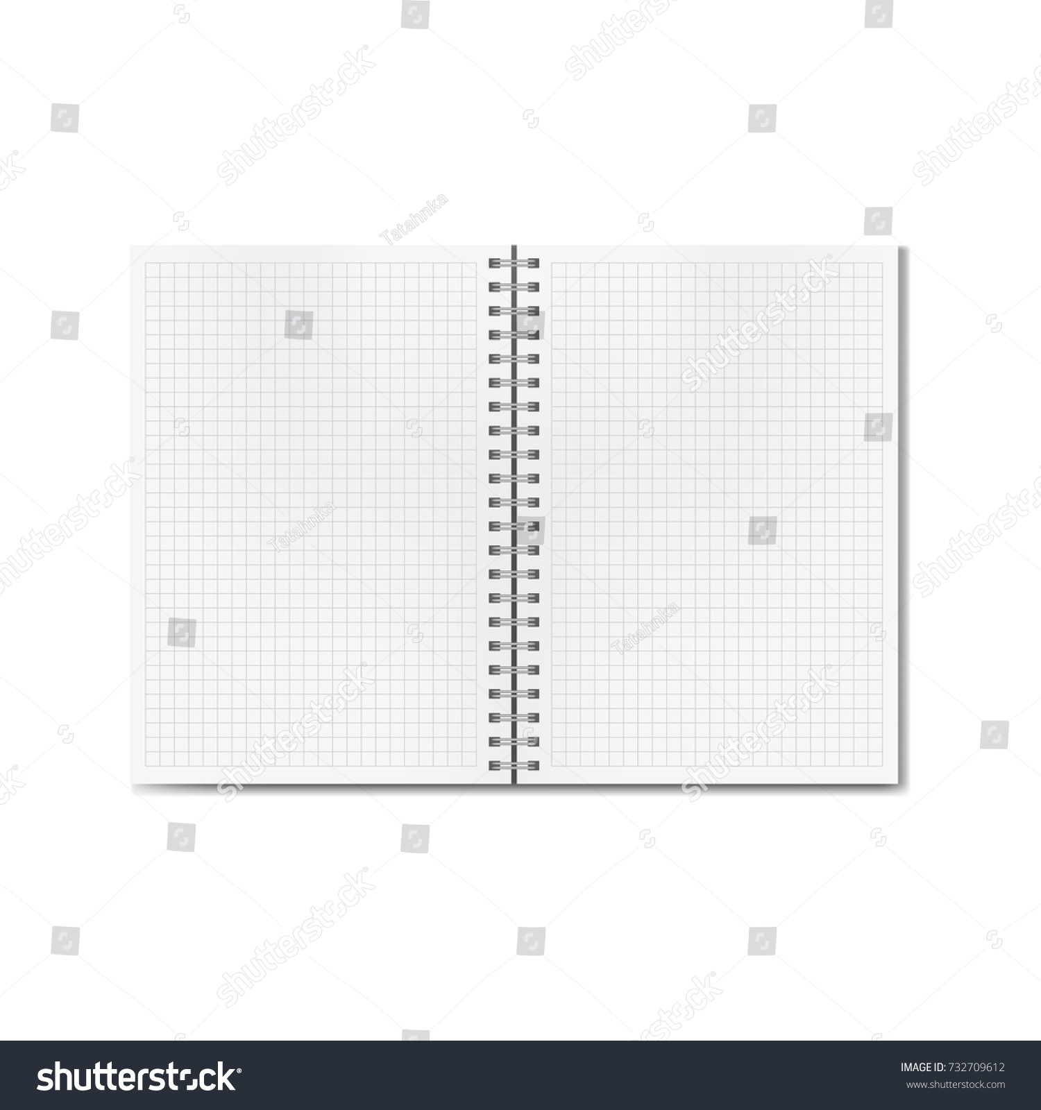 worksheet Blank Line Graph Template vector opened realistic graph quad ruled stock 732709612 or notebook blank lined pages textbook on ring spiral