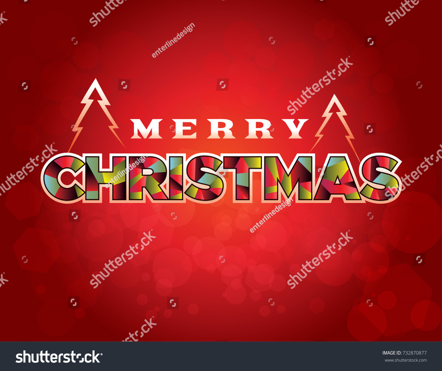 Merry christmas holiday greeting message written stock illustration merry christmas holiday greeting message written in stylized type on a red background illustration m4hsunfo Choice Image