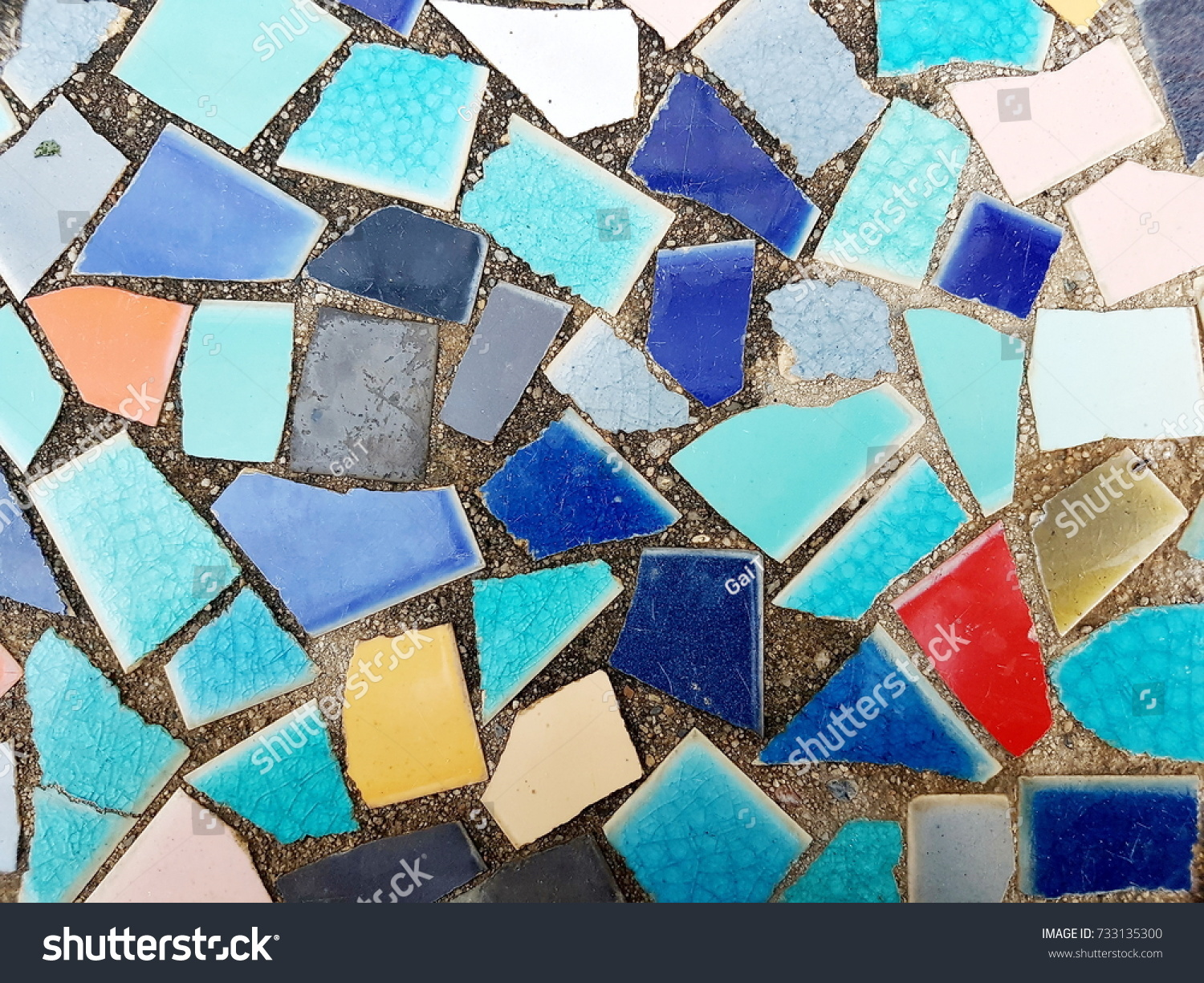 Colorful Ceramic Tile Patterns Stock Photo 733135300 - Shutterstock