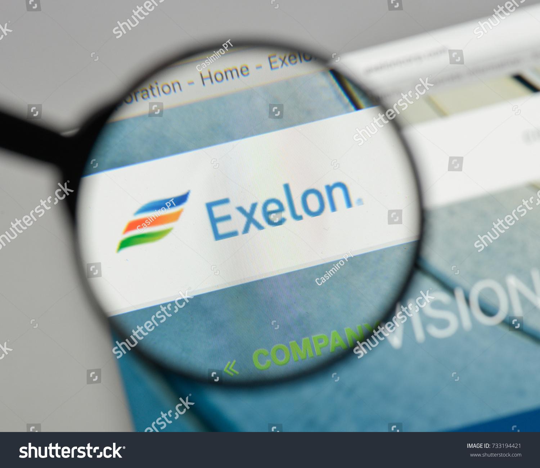 Milan Italy August 10 2017 Exelon Stock Photo 733194421 Shutterstock