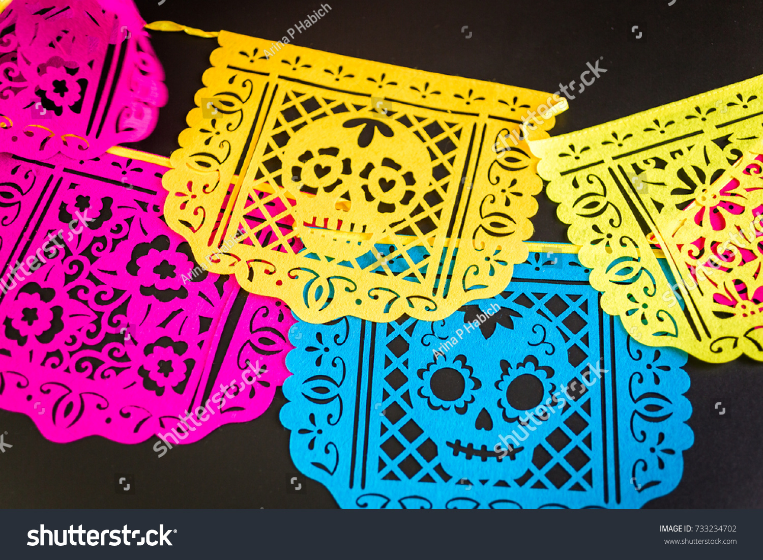 Decorations Traditional Mexican Holiday Day Dead Stock Photo (Edit ...