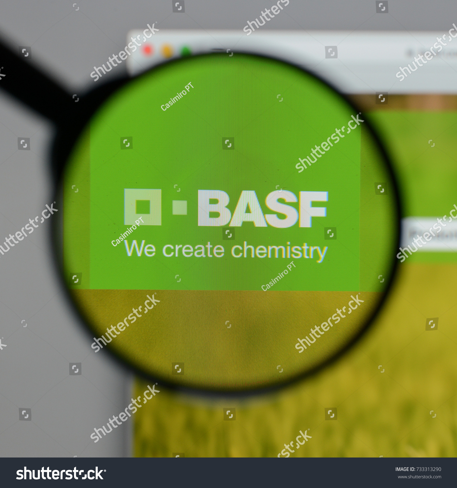 Milan Italy August 10 2017 Basf Stock Photo Royalty Free 733313290