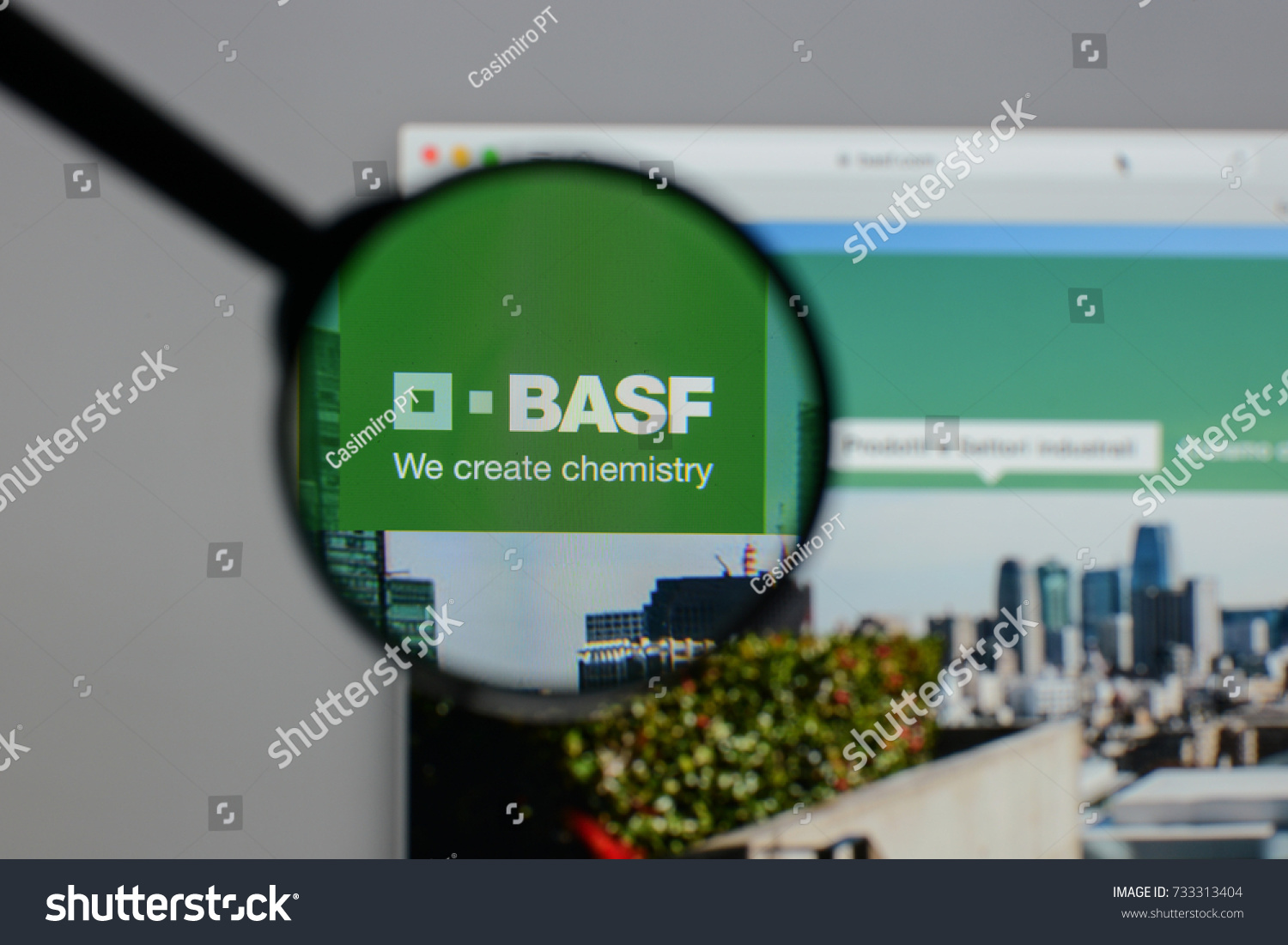 Milan Italy August 10 2017 Basf Stock Photo Royalty Free 733313404