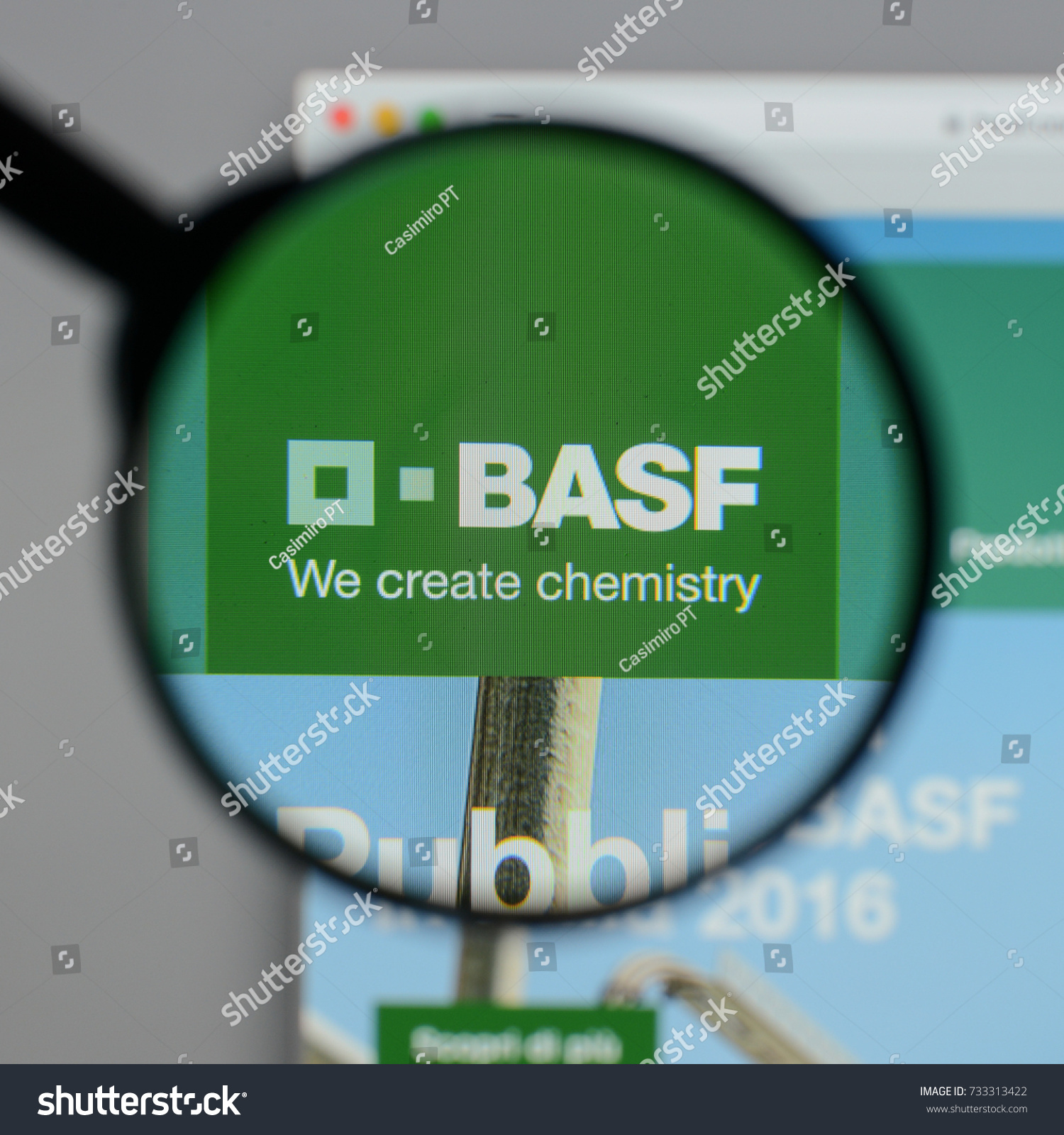 Milan Italy August 10 2017 Basf Stock Photo Edit Now 733313422