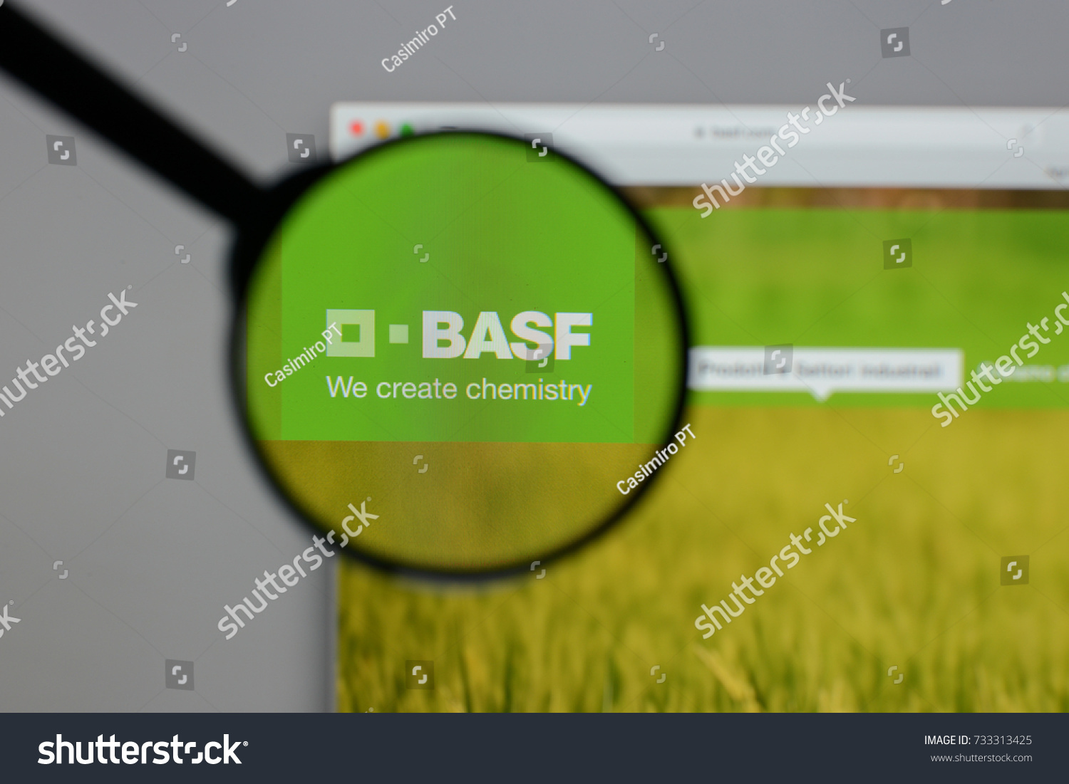 Milan Italy August 10 2017 Basf Stock Photo Edit Now 733313425