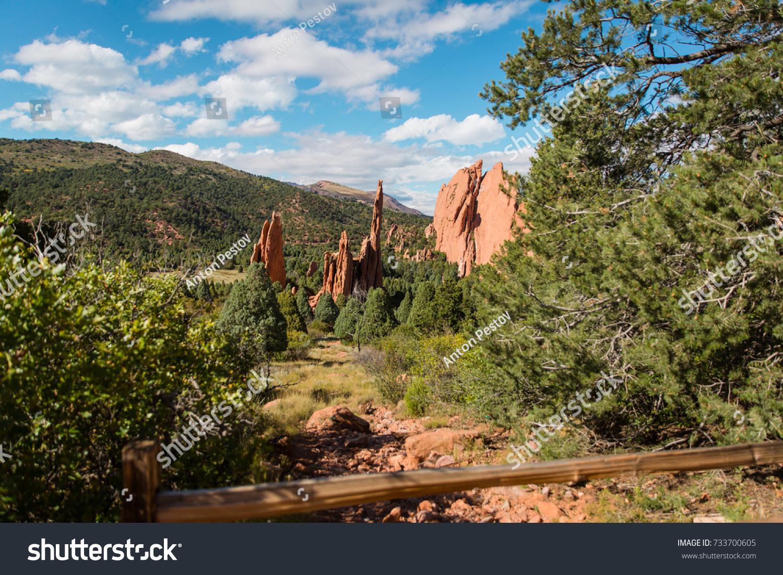 Garden Gods Colorado Springs Colorado Stock Photo (Royalty Free ...