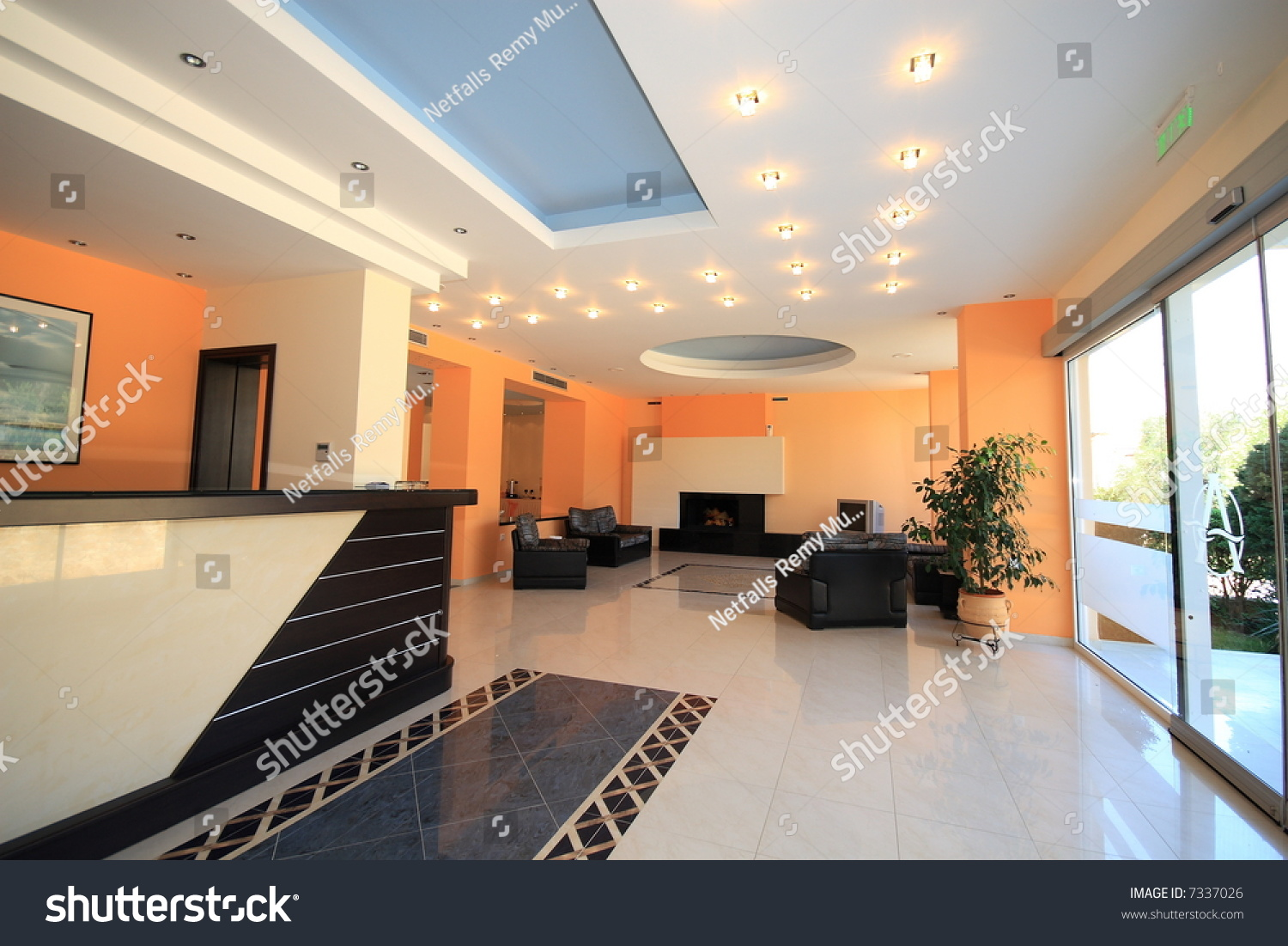luxury hotel lobby reception area stock photo 7337026 shutterstock
