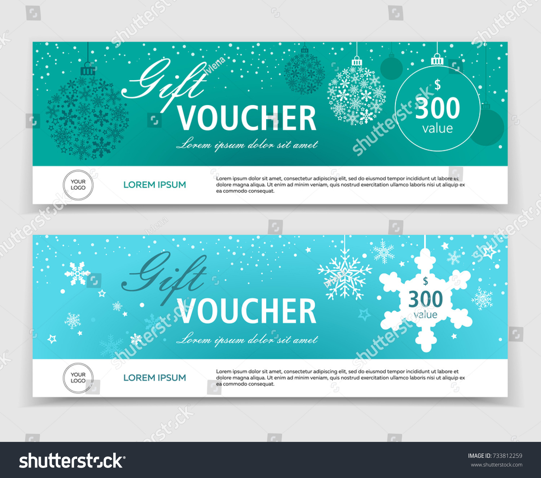 christmas gift vouchers templates