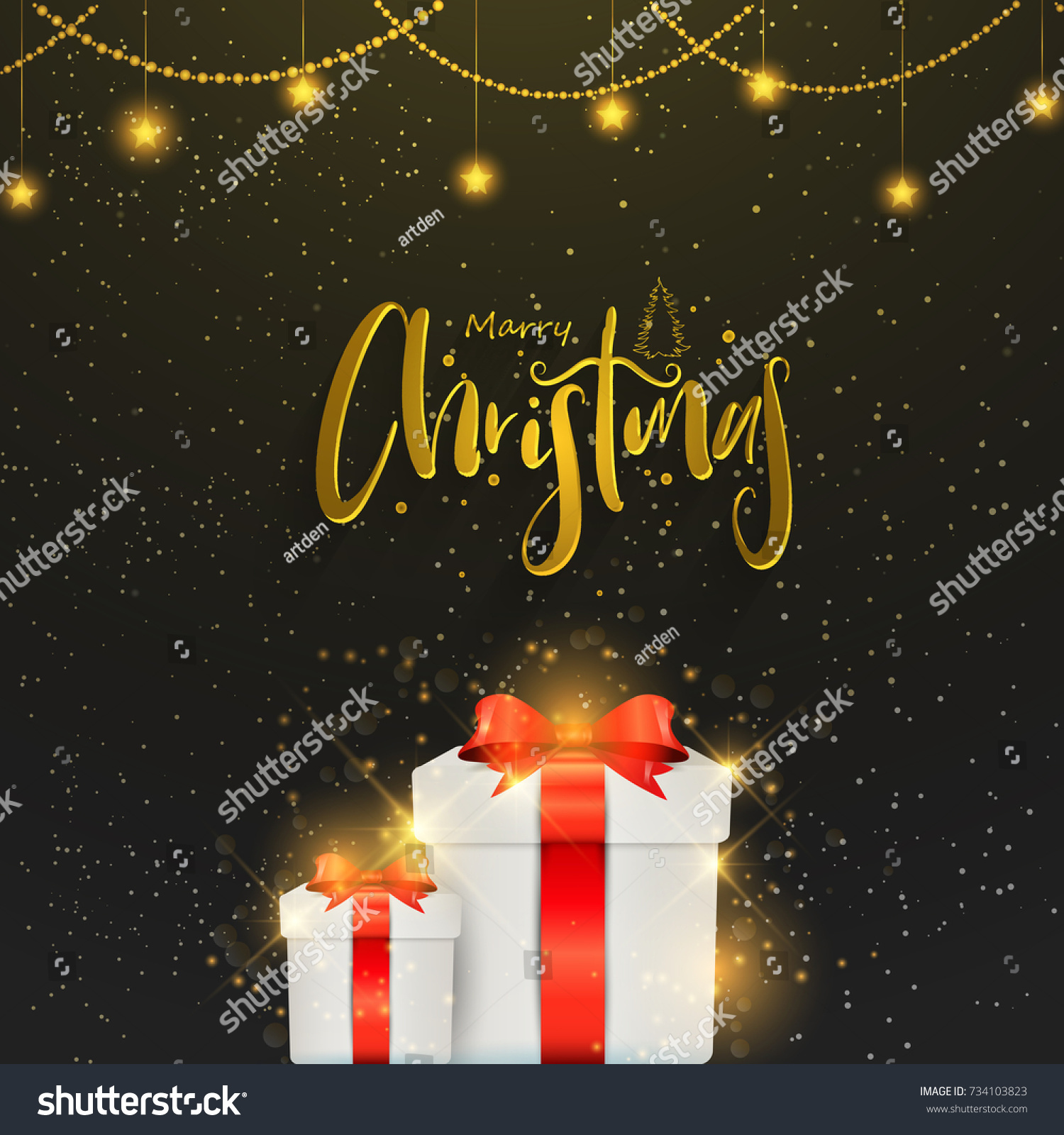 Nice beautiful abstract merry christmas nice stock vector nice and beautiful abstract for merry christmas with nice and creative design illustration in background kristyandbryce Gallery