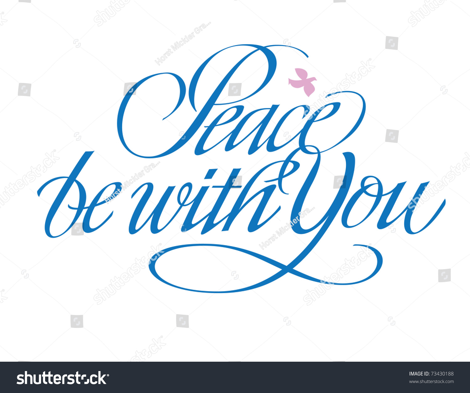 peace be with you hand lettering stock vector 73430188 holy spirit clip art catholic holy spirit clip art free