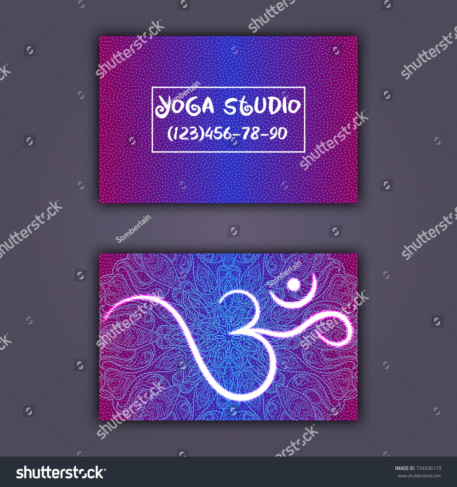 Beautiful Collection Of Yoga Mat Business Card – Business Cards ...