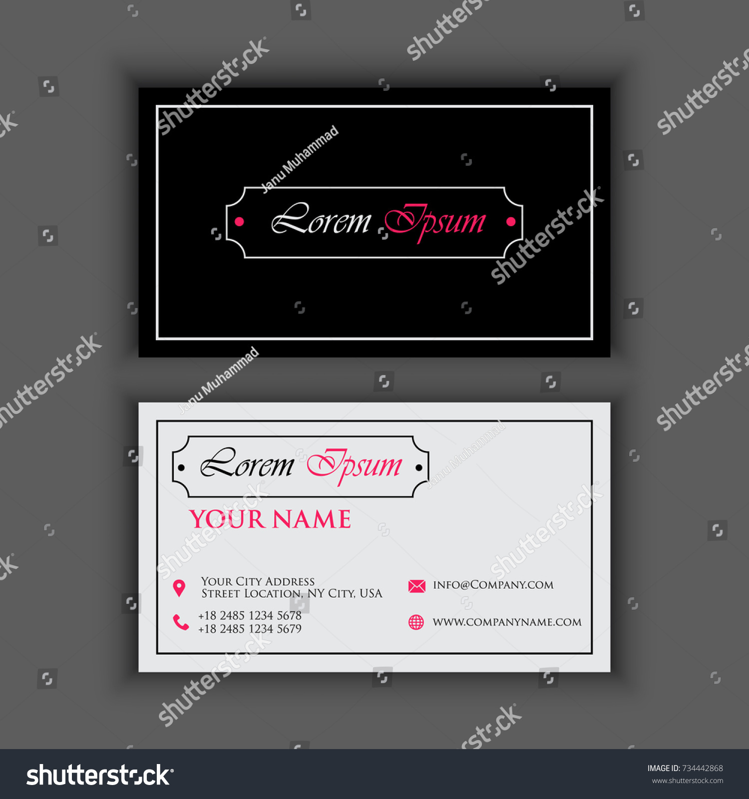 Vintage Business Card Images - Free Business Cards