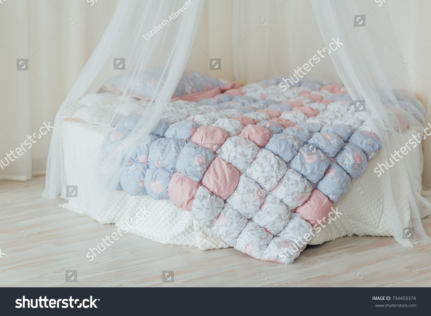 Uncategorized Round Bed With Canopy round bed canopy stock photo 734453374 shutterstock with canopy