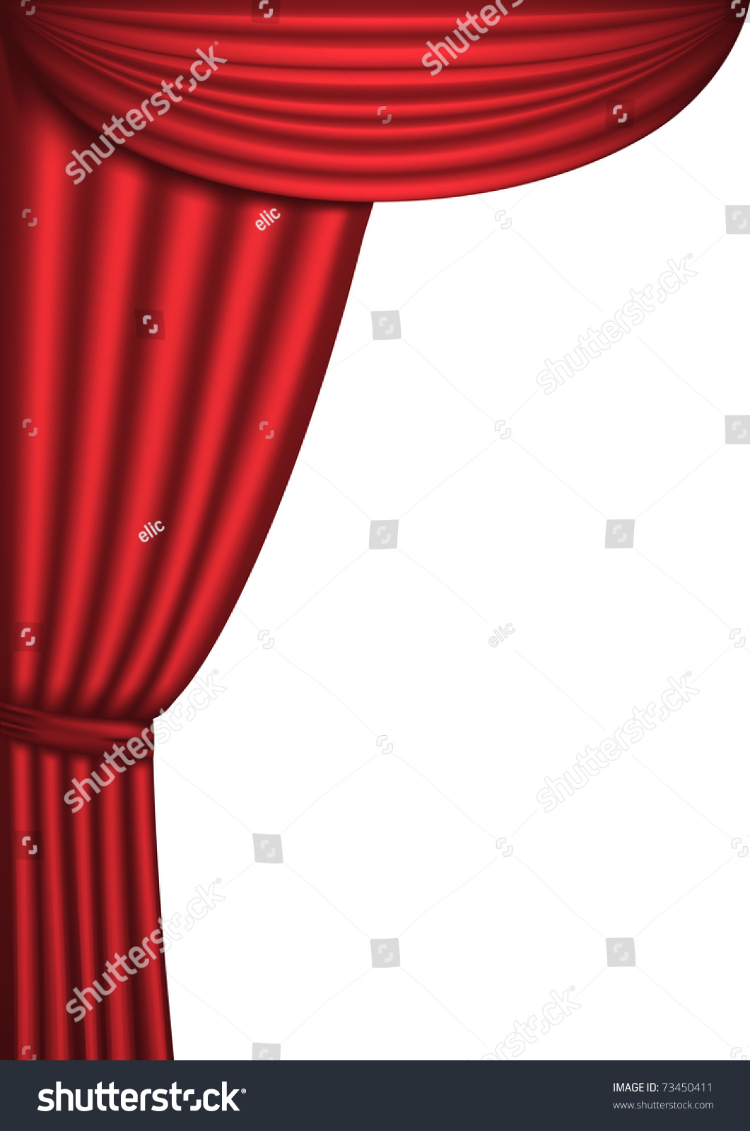 Open theater drapes or stage curtains royalty free stock image image - Open Red Theater Curtain Background Vector Illustration