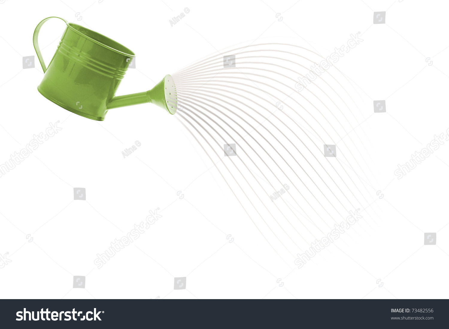 water pouring watering can stock photo 73482556 shutterstock