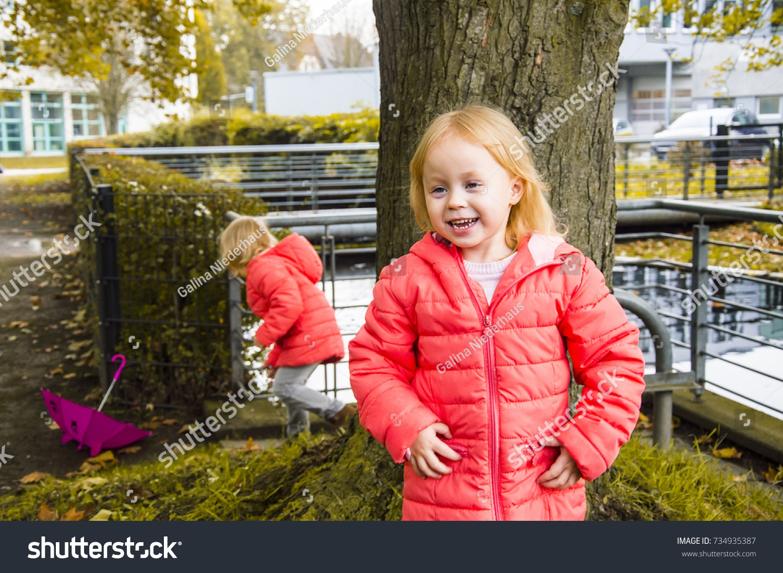 28c9b06df Children Park Autumn Afternoon Stock Photo (Edit Now) 734935387 ...
