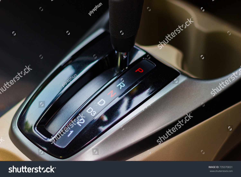 Closeup The Symbol Of Each Auto Gear Ez Canvas