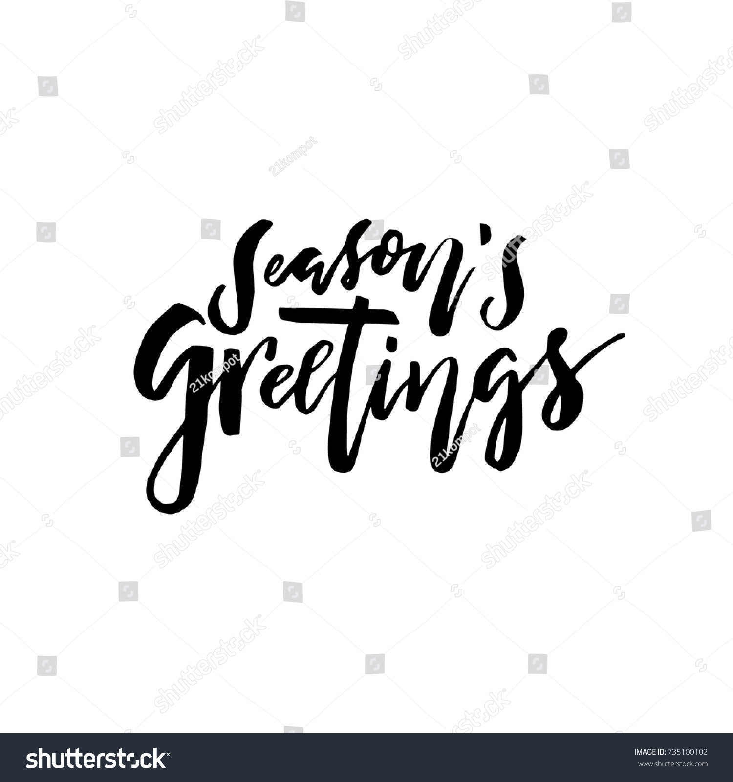 Merry christmas card calligraphy seasons greetings stock vector merry christmas card with calligraphy seasons greetings template for congratulations housewarming posters kristyandbryce Images