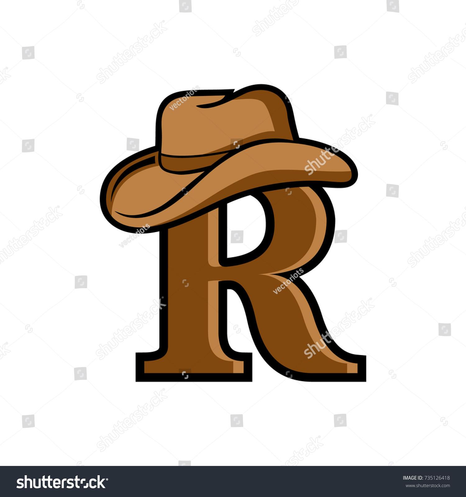 R Logo Initial Letter Design Template Stock Vector 735126418 ...