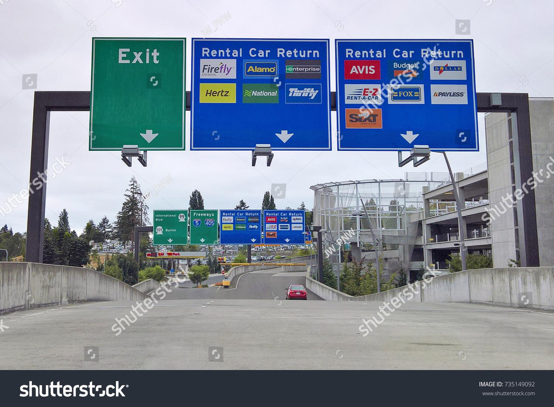 car rental at sea tac airport