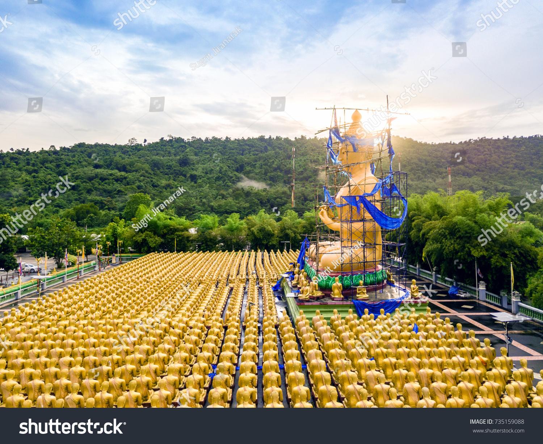 Buddha image lord buddha among 1250 stock photo 735159088 buddha image of lord buddha among the 1250 monks the symbol of magha puja day biocorpaavc