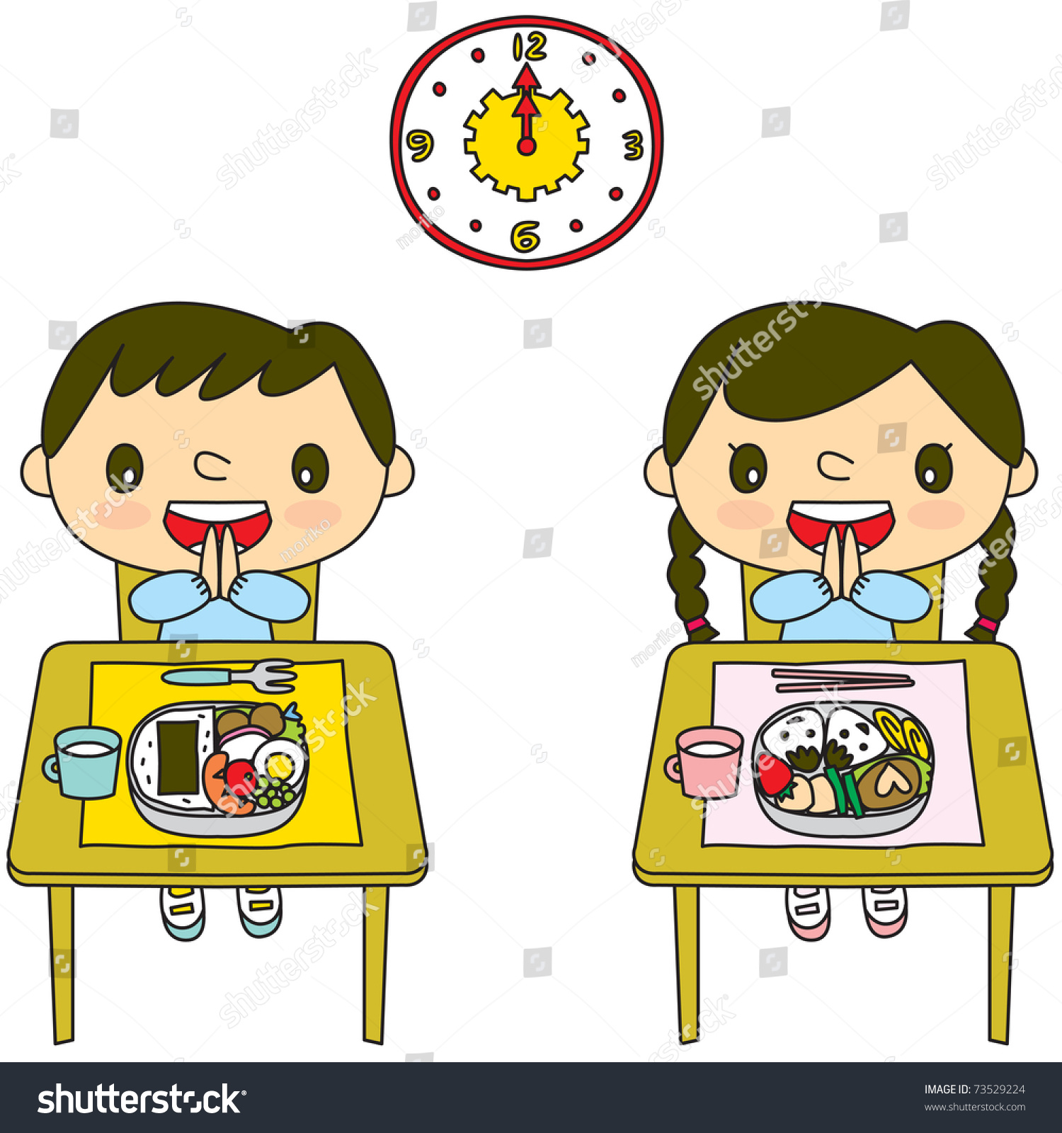 List Of Synonyms And Antonyms Of The Word Lunch Time Cartoon