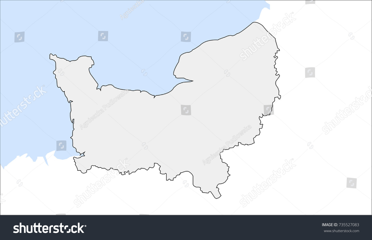 Of france map normandy Map of