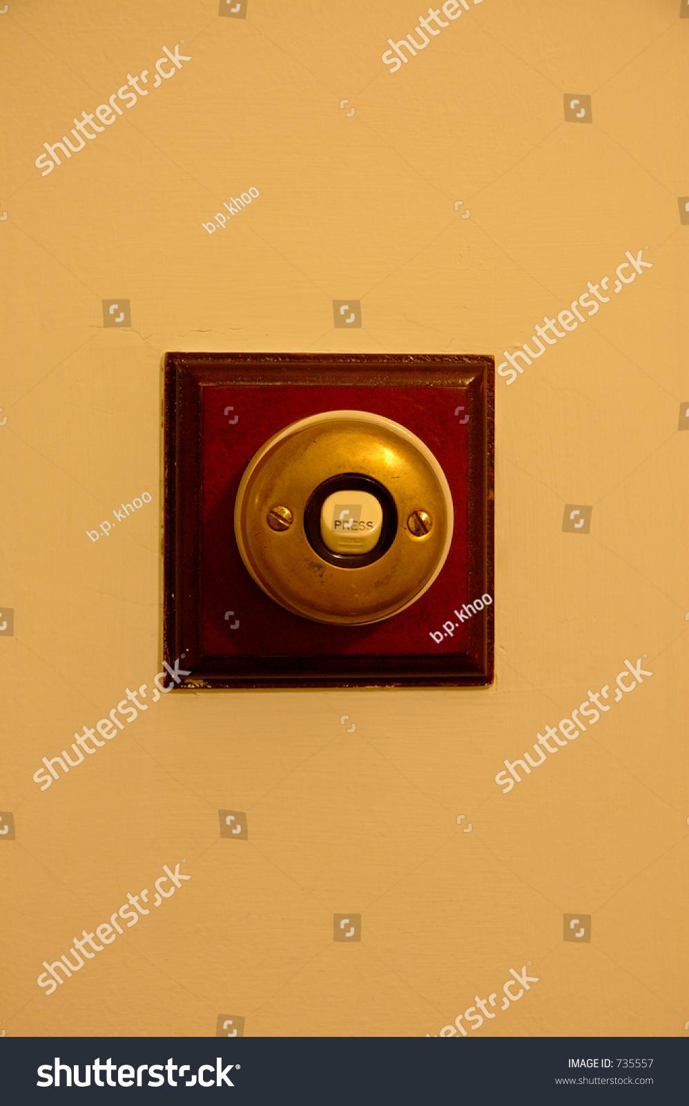 Door Bell Stock Photo Edit Now 735557 Shutterstock Musical Doorbell Circuit With Over Light