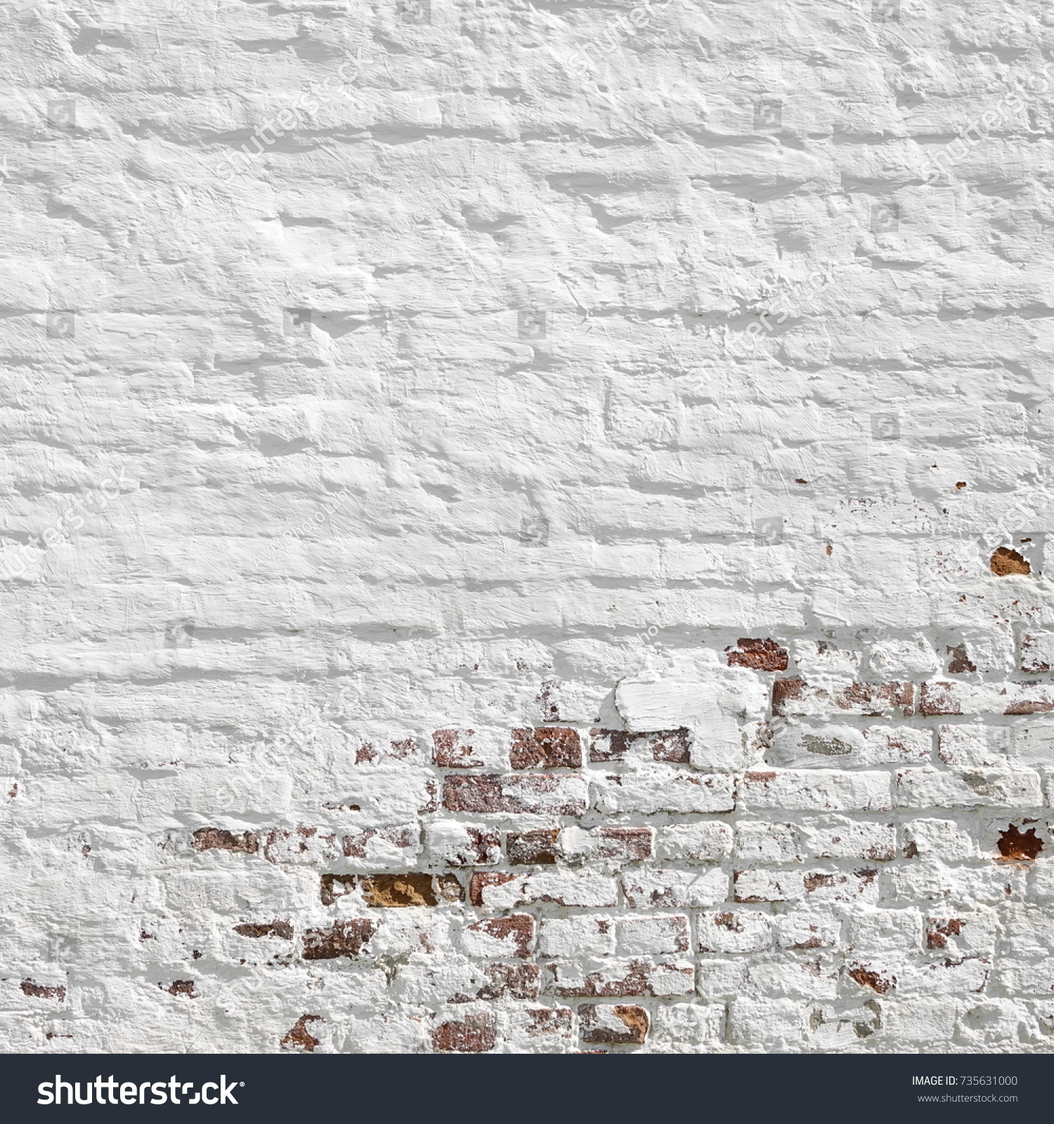 Red White Brick Wall Frame Background Stock Photo (Edit Now ...