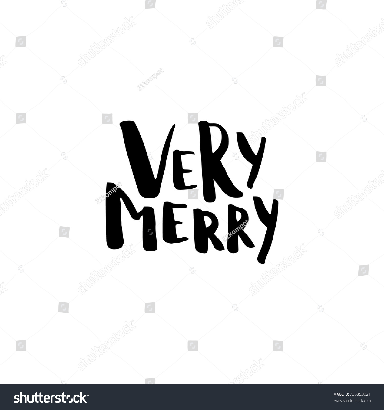 Christmas card calligraphy very merry template stock vector christmas card with calligraphy very merry template for greetings congratulations housewarming kristyandbryce Image collections