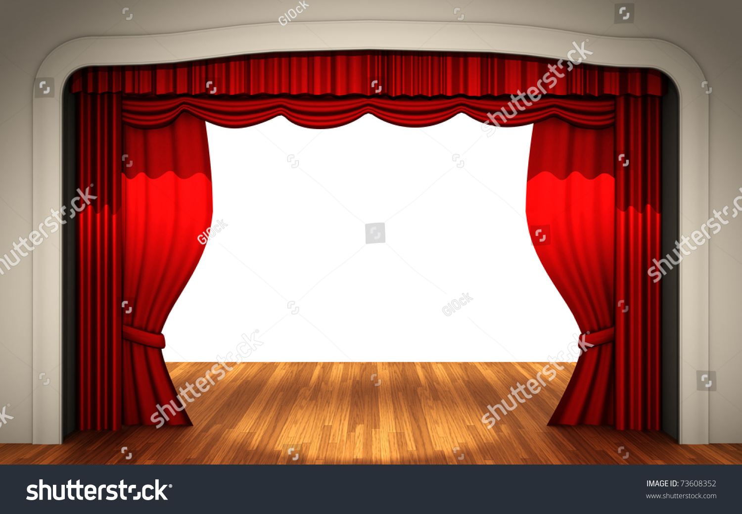 Real open stage curtains - Red Stage Curtains Open Stage With Open Curtain