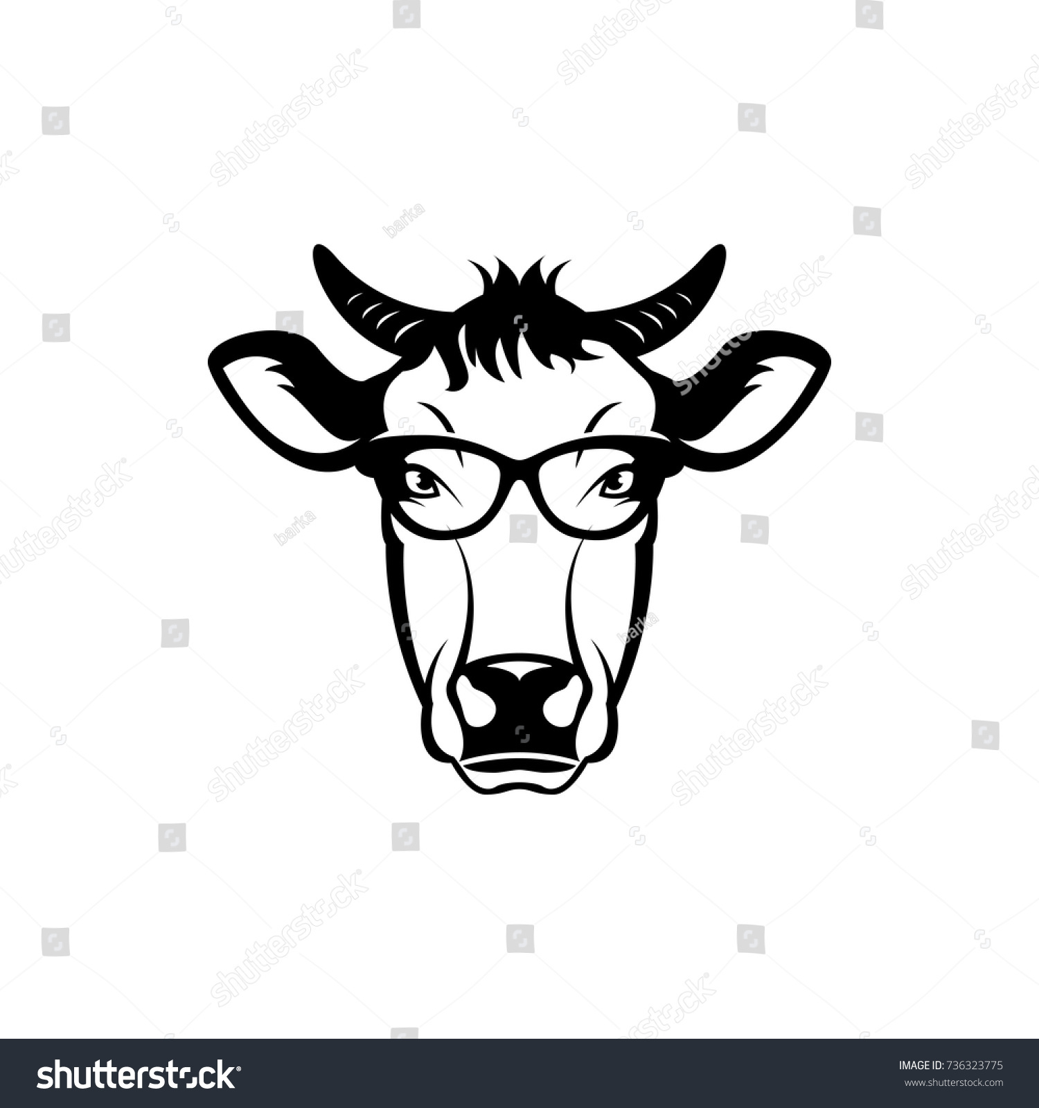 Stunning Cow Face Template Ideas - Entry Level Resume Templates ...