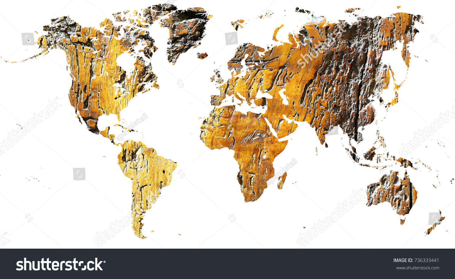Wood World Map Cut Out.World Map Cut Out Antique Grunge Stock Photo Edit Now 736333441