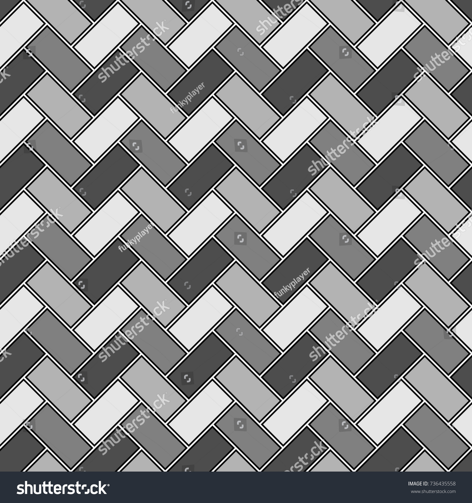 Herringbone pattern rectangles slabs tessellation seamless stock rectangles slabs tessellation seamless surface design with slanted blocks tiling floor dailygadgetfo Images