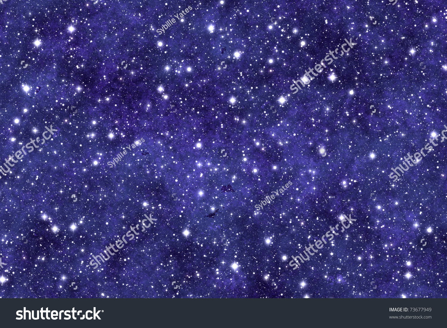 Night Sky Wallpaper With Many Stars And Dreamy Effect