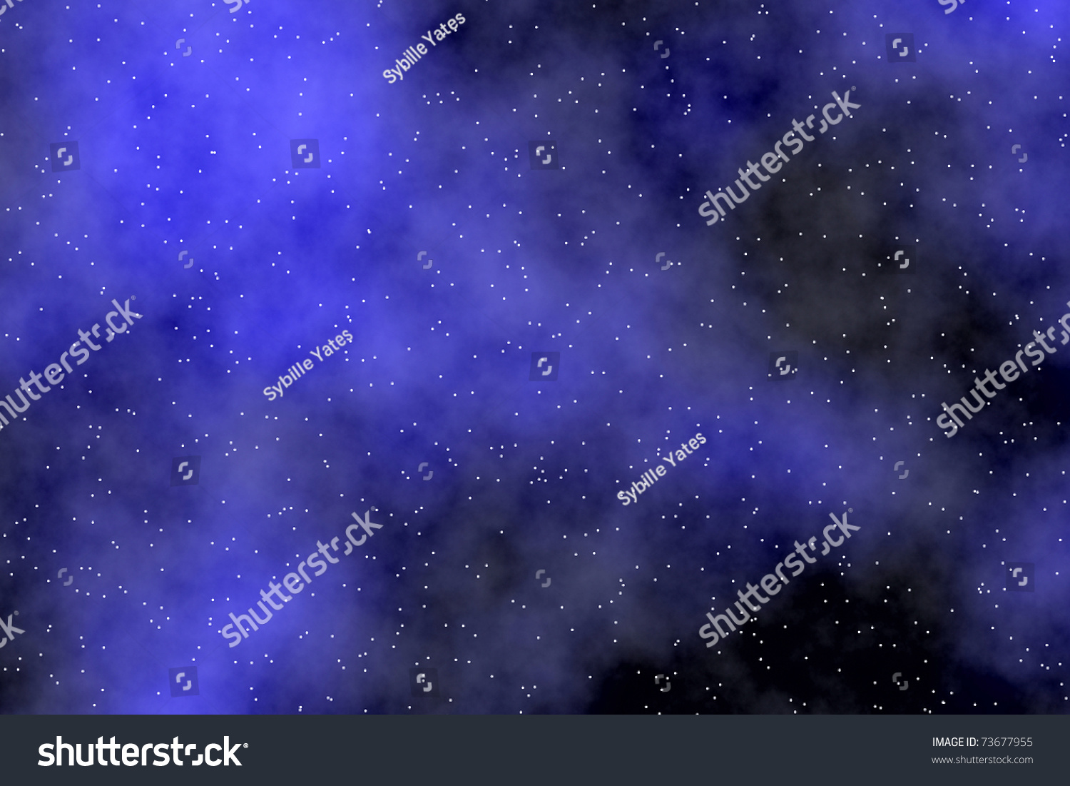 Night Sky Wallpaper With Aurora Borealis Tiny Stars And Dreamy Effect